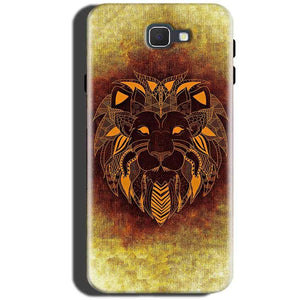 Samsung Galaxy On Max Mobile Covers Cases Lion face art - Lowest Price - Paybydaddy.com
