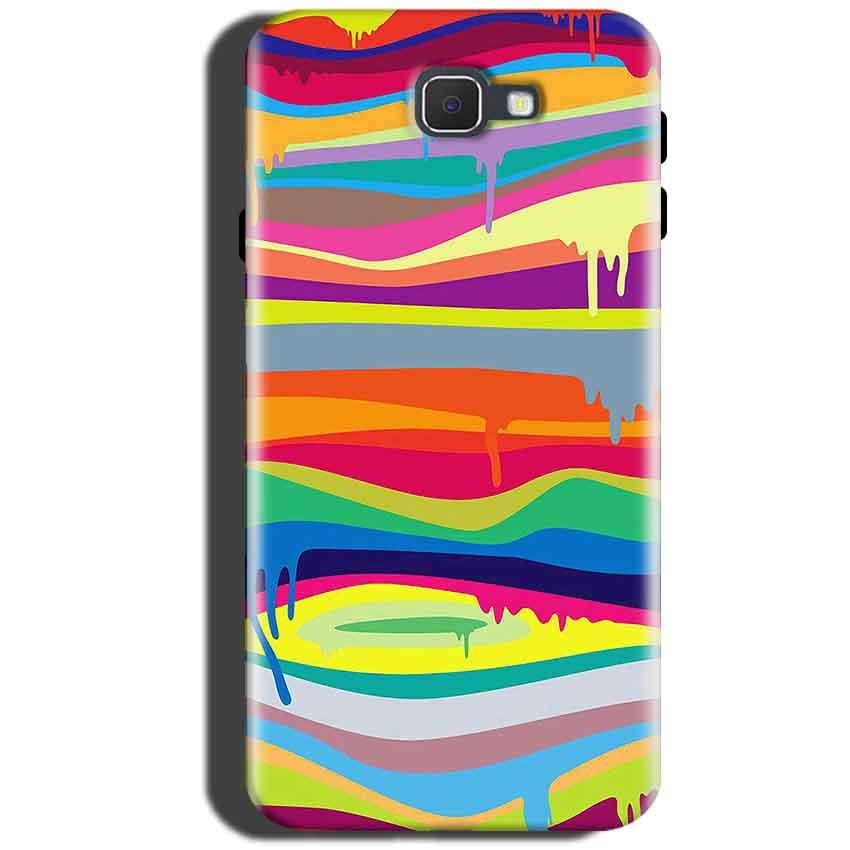 Samsung Galaxy On Max Mobile Covers Cases Melted colours - Lowest Price - Paybydaddy.com