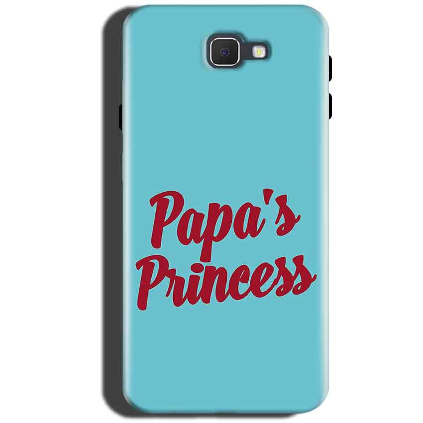 Samsung Galaxy On Max Mobile Covers Cases Papas Princess - Lowest Price - Paybydaddy.com