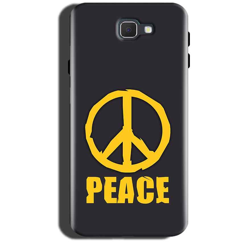 Samsung Galaxy On Max Mobile Covers Cases Peace Blue Yellow - Lowest Price - Paybydaddy.com