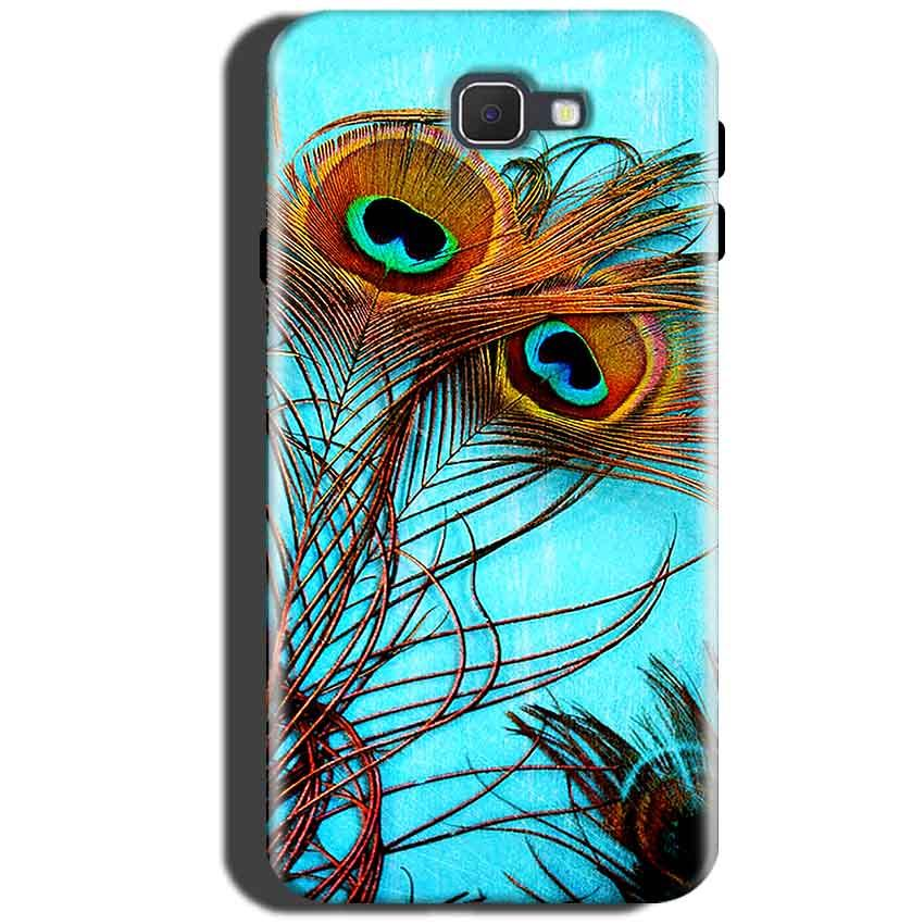 Samsung Galaxy On Max Mobile Covers Cases Peacock blue wings - Lowest Price - Paybydaddy.com