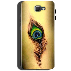 Samsung Galaxy On Max Mobile Covers Cases Peacock coloured art - Lowest Price - Paybydaddy.com