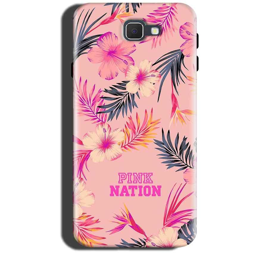 Samsung Galaxy On Max Mobile Covers Cases Pink nation - Lowest Price - Paybydaddy.com