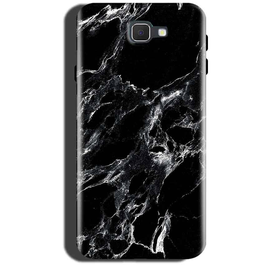 Samsung Galaxy On Max Mobile Covers Cases Pure Black Marble Texture - Lowest Price - Paybydaddy.com
