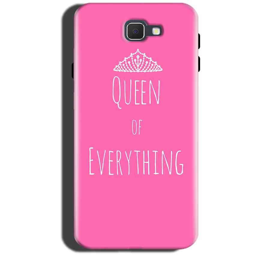 Samsung Galaxy On Max Mobile Covers Cases Queen Of Everything Pink White - Lowest Price - Paybydaddy.com