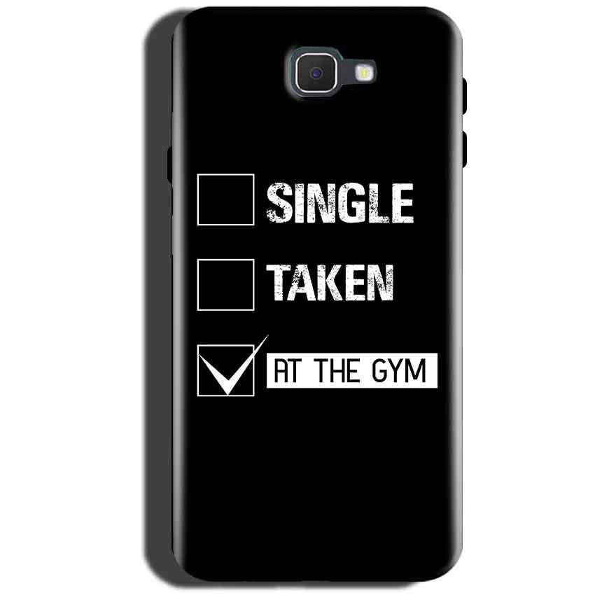 Samsung Galaxy On Max Mobile Covers Cases Single Taken At The Gym - Lowest Price - Paybydaddy.com