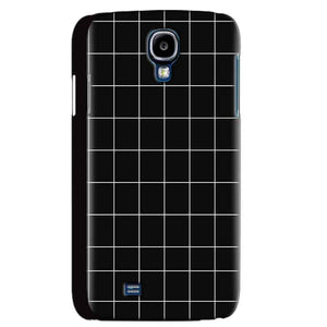 Samsung Galaxy S4 Mobile Covers Cases Black with White Checks - Lowest Price - Paybydaddy.com