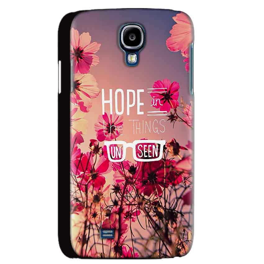 Samsung Galaxy S4 Mobile Covers Cases Hope in the Things Unseen- Lowest Price - Paybydaddy.com