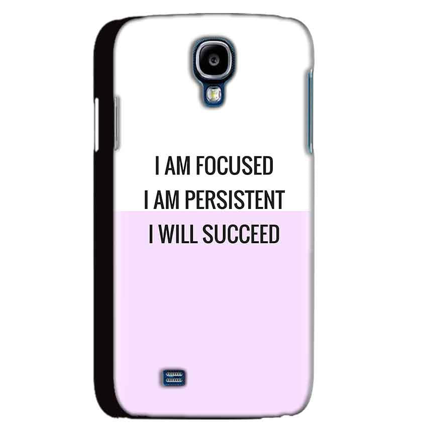 Samsung Galaxy S4 Mobile Covers Cases I am Focused - Lowest Price - Paybydaddy.com