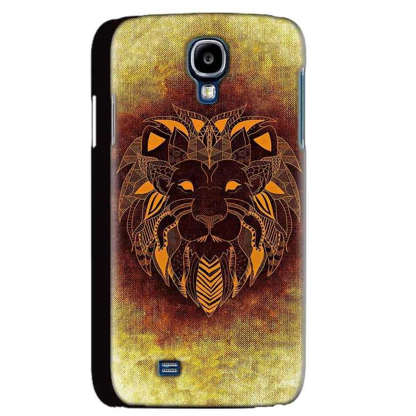 Samsung Galaxy S4 Mobile Covers Cases Lion face art - Lowest Price - Paybydaddy.com
