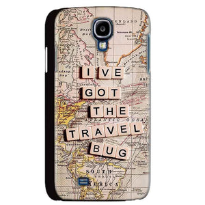 Samsung Galaxy S4 Mobile Covers Cases Live Travel Bug - Lowest Price - Paybydaddy.com