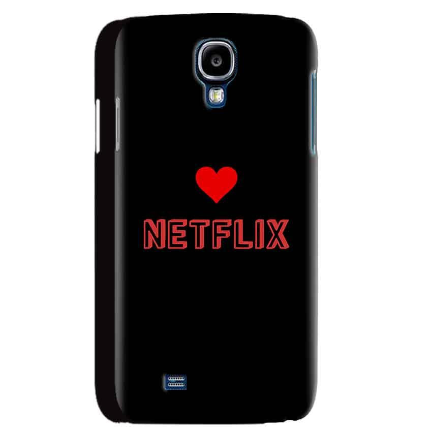 Samsung Galaxy S4 Mobile Covers Cases NETFLIX WITH HEART - Lowest Price - Paybydaddy.com