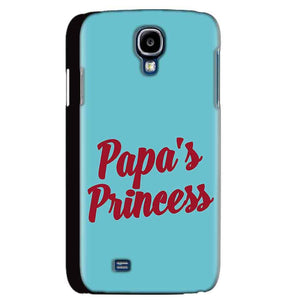 Samsung Galaxy S4 Mobile Covers Cases Papas Princess - Lowest Price - Paybydaddy.com