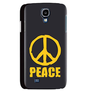 Samsung Galaxy S4 Mobile Covers Cases Peace Blue Yellow - Lowest Price - Paybydaddy.com