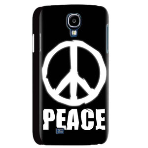 Samsung Galaxy S4 Mobile Covers Cases Peace Sign In White - Lowest Price - Paybydaddy.com