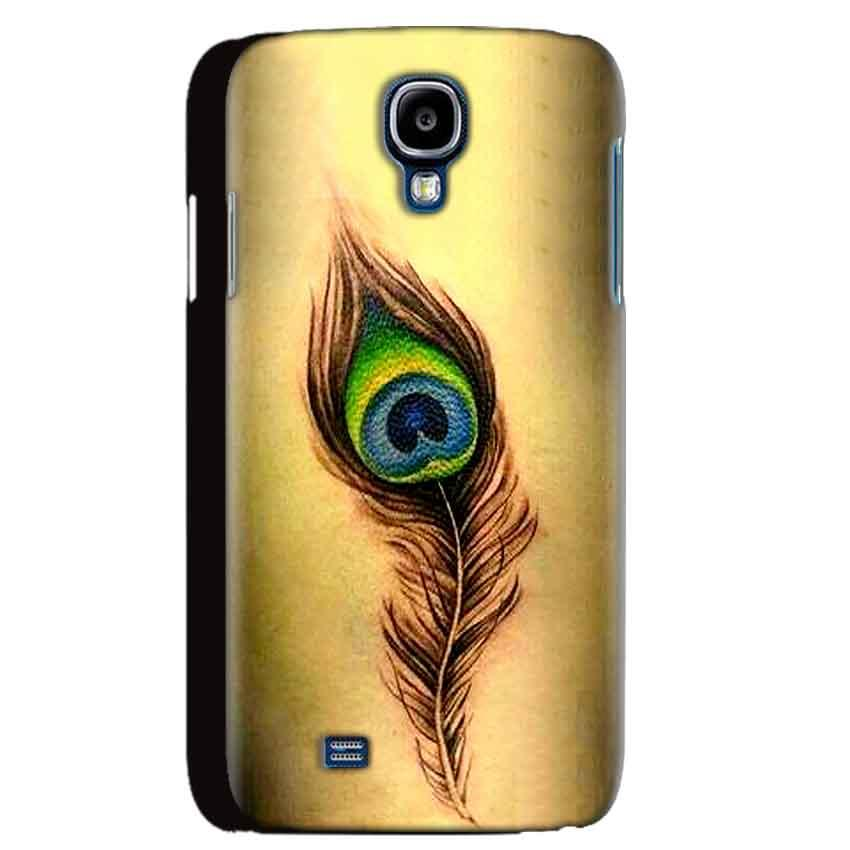 Samsung Galaxy S4 Mobile Covers Cases Peacock coloured art - Lowest Price - Paybydaddy.com