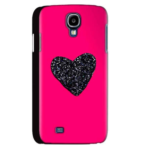 Samsung Galaxy S4 Mobile Covers Cases Pink Glitter Heart - Lowest Price - Paybydaddy.com