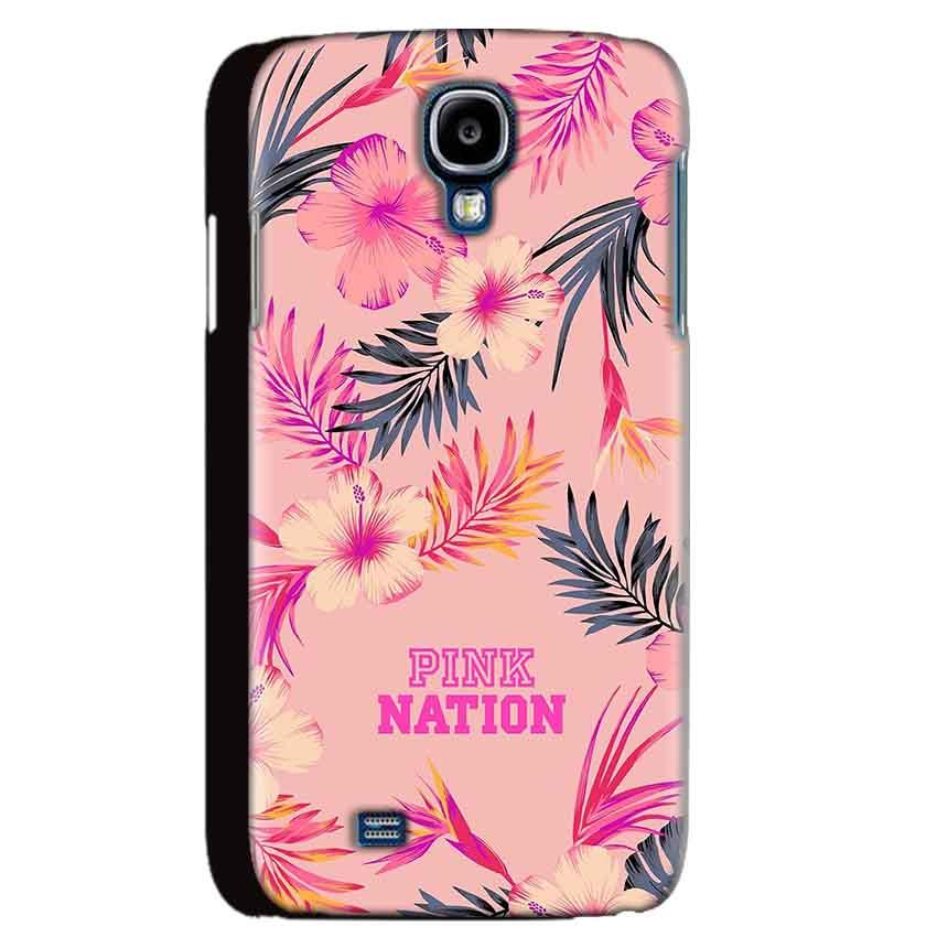 Samsung Galaxy S4 Mobile Covers Cases Pink nation - Lowest Price - Paybydaddy.com