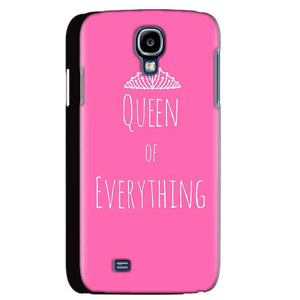 Samsung Galaxy S4 Mobile Covers Cases Queen Of Everything Pink White - Lowest Price - Paybydaddy.com