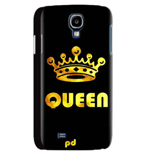 Samsung Galaxy S4 Mobile Covers Cases Queen With Crown in gold - Lowest Price - Paybydaddy.com