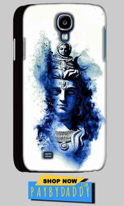 Samsung Galaxy S4 Mobile Covers Cases Shiva Blue White - Lowest Price - Paybydaddy.com