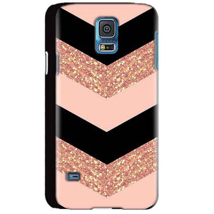 Samsung Galaxy S5 Mobile Covers Cases Black down arrow Pattern - Lowest Price - Paybydaddy.com