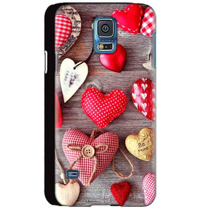 Samsung Galaxy S5 Mobile Covers Cases Hearts- Lowest Price - Paybydaddy.com
