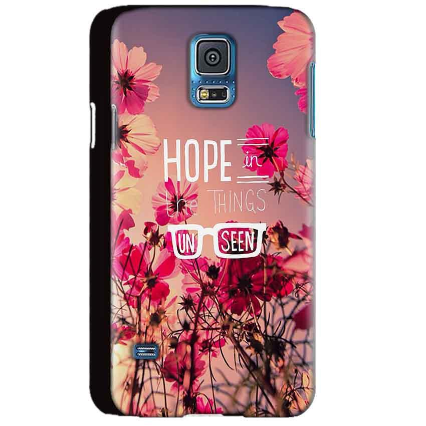 Samsung Galaxy S5 Mobile Covers Cases Hope in the Things Unseen- Lowest Price - Paybydaddy.com