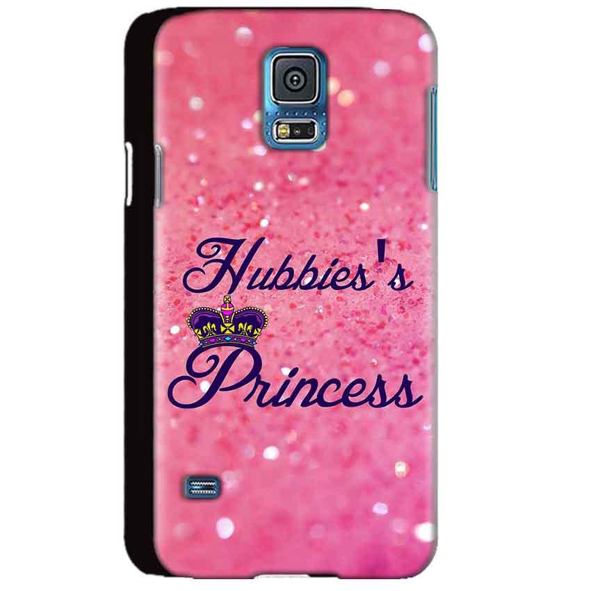 Samsung Galaxy S5 Mobile Covers Cases Hubbies Princess - Lowest Price - Paybydaddy.com
