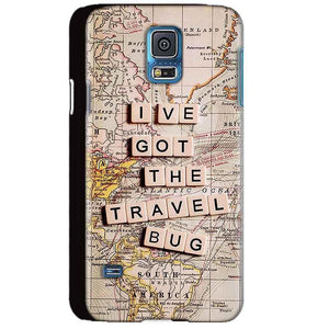 Samsung Galaxy S5 Mobile Covers Cases Live Travel Bug - Lowest Price - Paybydaddy.com