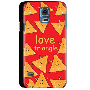 Samsung Galaxy S5 Mobile Covers Cases Love Triangle - Lowest Price - Paybydaddy.com