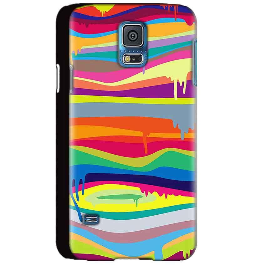 Samsung Galaxy S5 Mobile Covers Cases Melted colours - Lowest Price - Paybydaddy.com