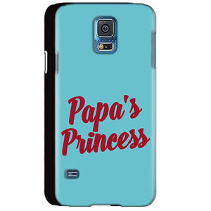 Samsung Galaxy S5 Mobile Covers Cases Papas Princess - Lowest Price - Paybydaddy.com