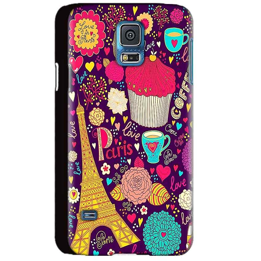 Samsung Galaxy S5 Mobile Covers Cases Paris Sweet love - Lowest Price - Paybydaddy.com