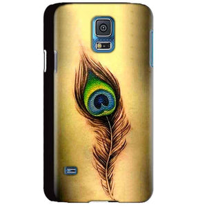 Samsung Galaxy S5 Mobile Covers Cases Peacock coloured art - Lowest Price - Paybydaddy.com
