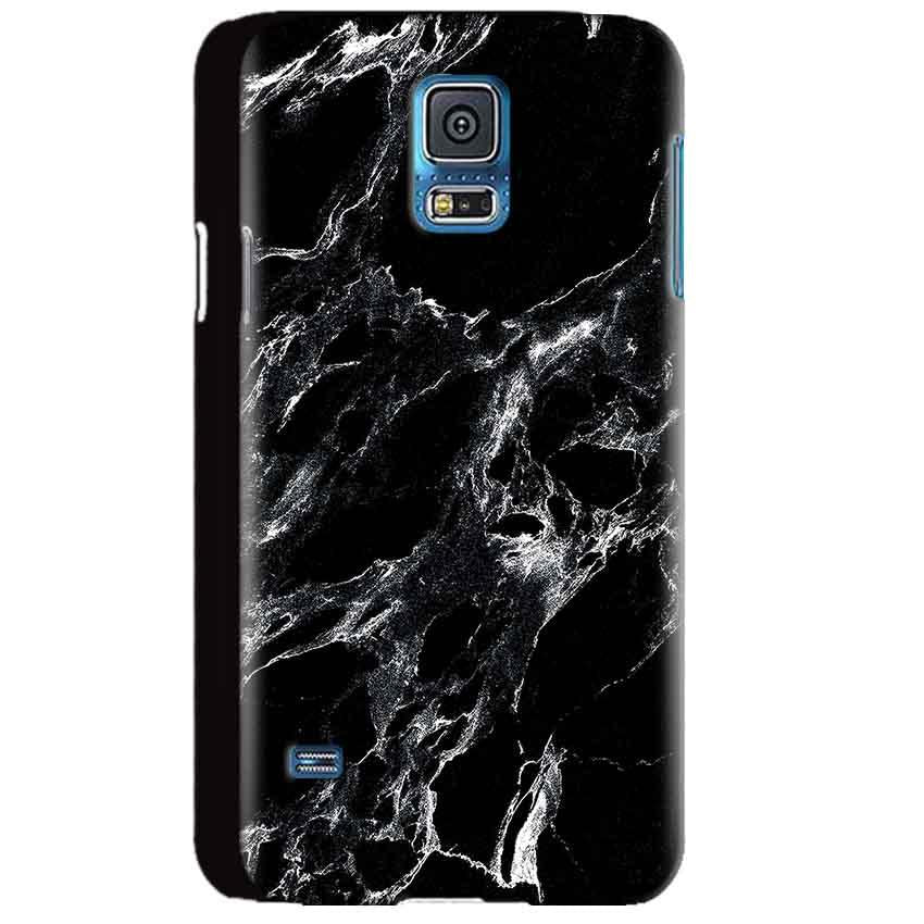 Samsung Galaxy S5 Mobile Covers Cases Pure Black Marble Texture - Lowest Price - Paybydaddy.com