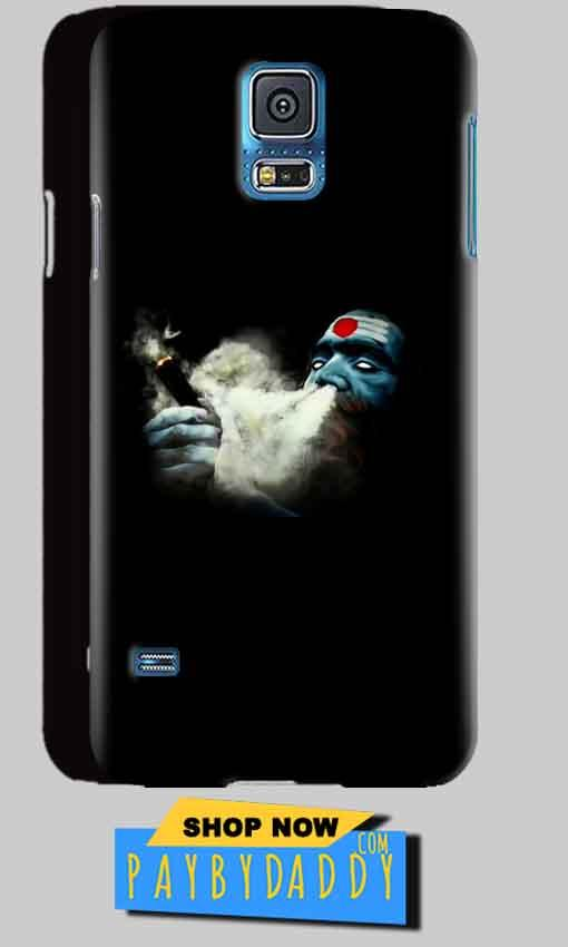 Samsung Galaxy S5 Mobile Covers Cases Shiva Aghori Smoking - Lowest Price - Paybydaddy.com