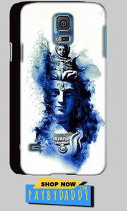 Samsung Galaxy S5 Mobile Covers Cases Shiva Blue White - Lowest Price - Paybydaddy.com