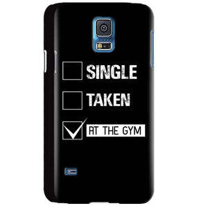 Samsung Galaxy S5 Mobile Covers Cases Single Taken At The Gym - Lowest Price - Paybydaddy.com