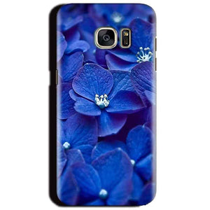 Samsung Galaxy S6 Mobile Covers Cases Blue flower - Lowest Price - Paybydaddy.com