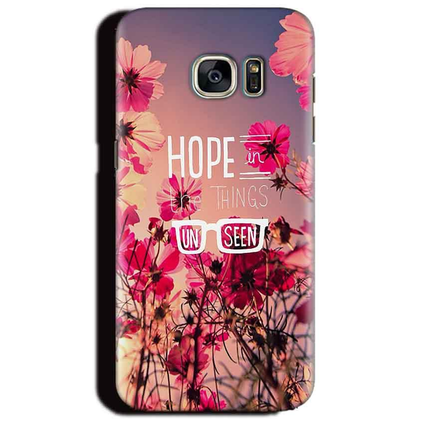 Samsung Galaxy S6 Edge Plus Mobile Covers Cases Hope in the Things Unseen- Lowest Price - Paybydaddy.com