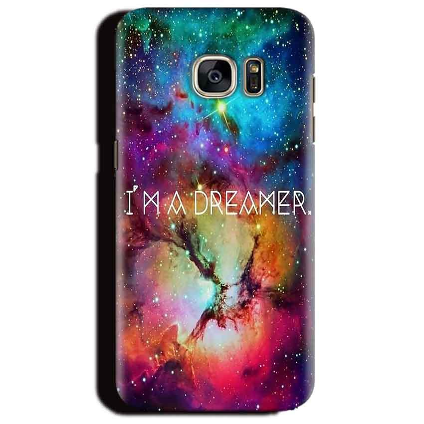 Samsung Galaxy S6 Edge Plus Mobile Covers Cases I am Dreamer - Lowest Price - Paybydaddy.com