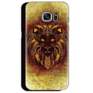 Samsung Galaxy S6 Edge Plus Mobile Covers Cases Lion face art - Lowest Price - Paybydaddy.com