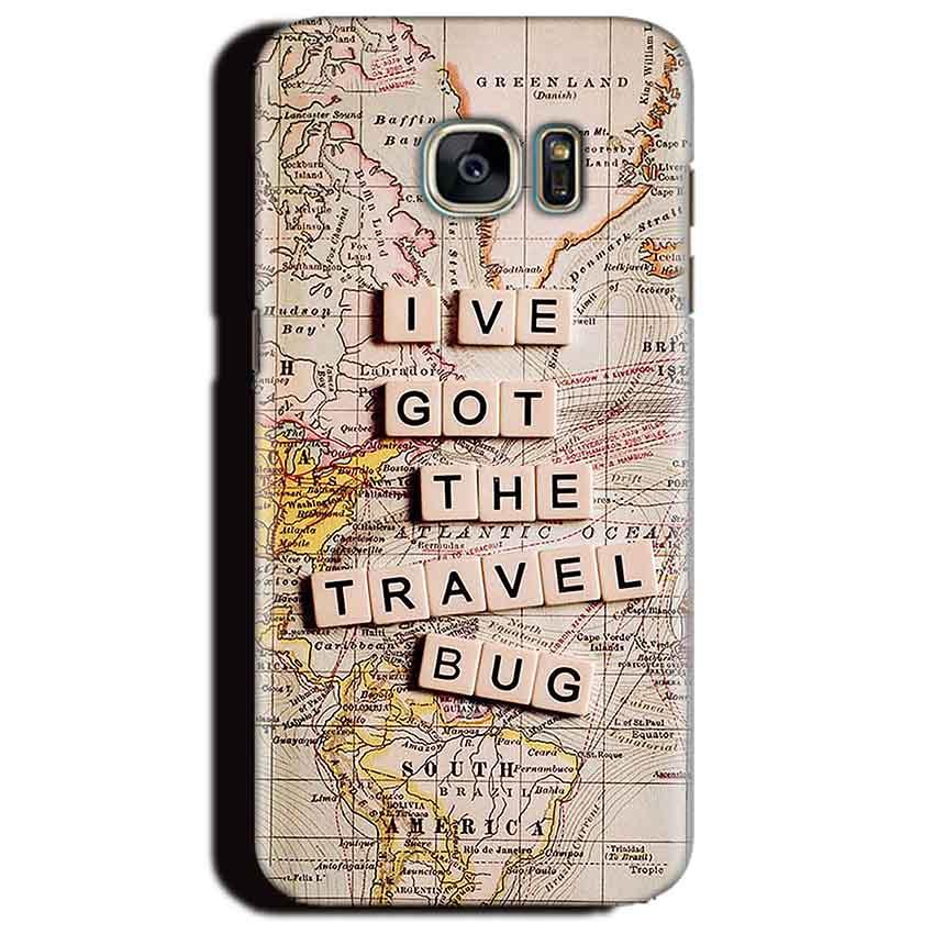 Samsung Galaxy S6 Edge Plus Mobile Covers Cases Live Travel Bug - Lowest Price - Paybydaddy.com
