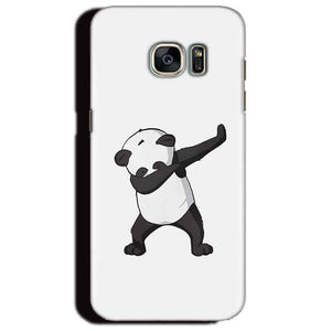 Samsung Galaxy S6 Edge Plus Mobile Covers Cases Panda Dab - Lowest Price - Paybydaddy.com