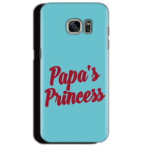 Samsung Galaxy S6 Edge Plus Mobile Covers Cases Papas Princess - Lowest Price - Paybydaddy.com