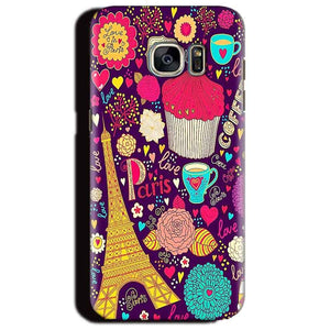 Samsung Galaxy S6 Edge Plus Mobile Covers Cases Paris Sweet love - Lowest Price - Paybydaddy.com