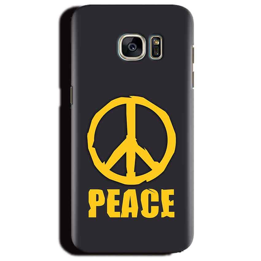 Samsung Galaxy S6 Edge Plus Mobile Covers Cases Peace Blue Yellow - Lowest Price - Paybydaddy.com