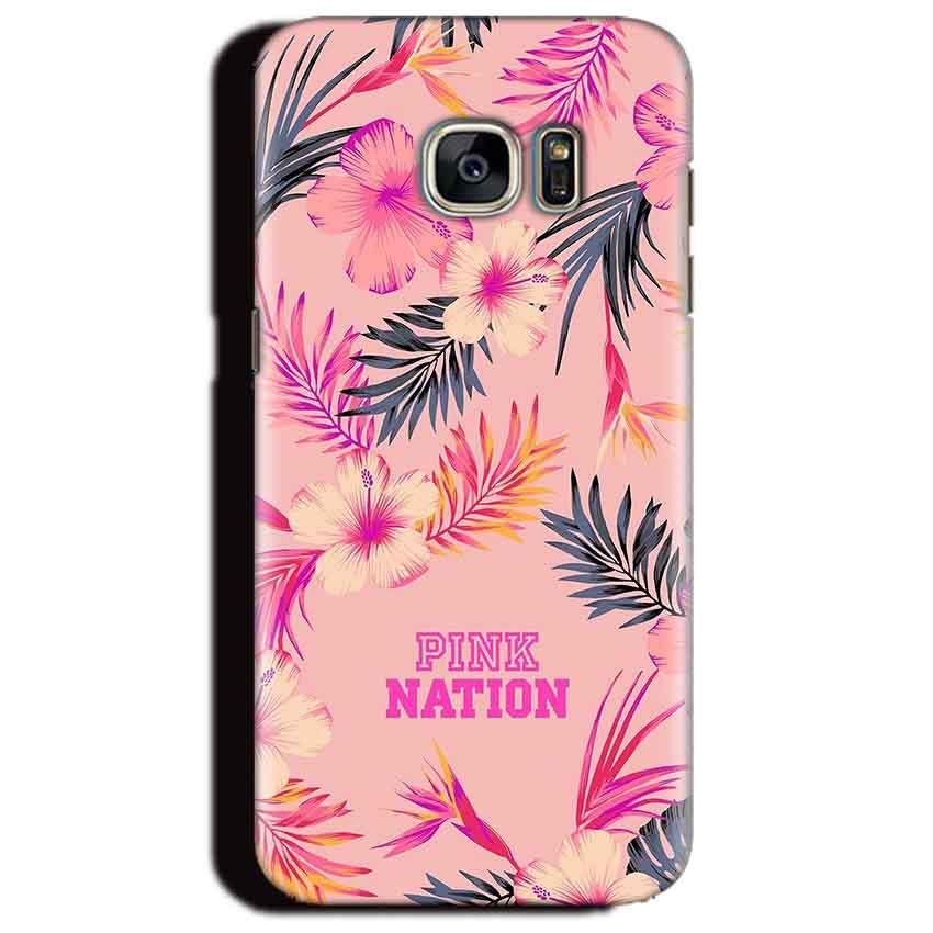 Samsung Galaxy S6 Edge Plus Mobile Covers Cases Pink nation - Lowest Price - Paybydaddy.com