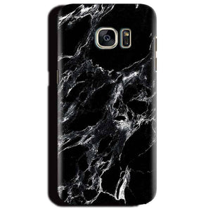Samsung Galaxy S6 Edge Plus Mobile Covers Cases Pure Black Marble Texture - Lowest Price - Paybydaddy.com